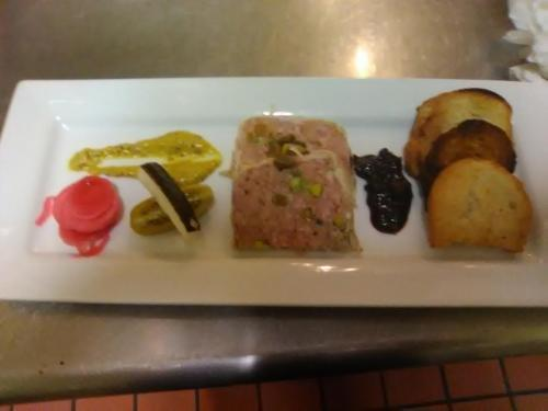 country pate pistachio cranberries